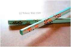 Pretty Chopsticks #chopsticks
