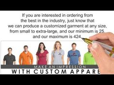 Whoever you are, you can make an impression with custom apparel from Arcada Apparel. A company with a notable distinction, Arcada Apparel (http://www.arcadaapparel.com) produces sumptuous, modern yet profoundly inexpensive custom clothing for student groups, marching bands, large corporations, and a wealth of others.