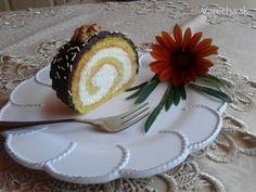 Roláda s tvarohovo-mascarpone krémom (fotorecept)