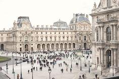 Paris, The Louvre Palace.