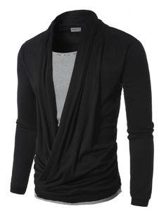 Doublju Mens Cardigan Style T-shirts   Amazon.com