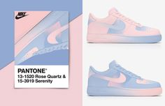 sports shoes 42c38 e3d86 Designer transforma Air Force 1 da Nike com as cores da Pantone 2016