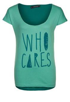 Even & Odd - T-Shirt print - green