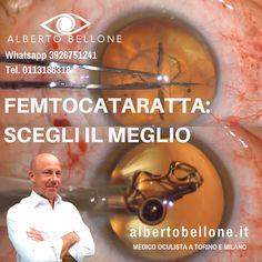 FEMTOCATARATTA: SCEGLI IL MEGLIO - Dr. Alberto Bellone - Oculista Torino e Milano  Lachirurgia della catarattaha subito notevoli evoluzioni tecnologiche. L'introduzione del Laser a Femtosecondi oFemto Laserha letteralmente rivoluzionato questa chirurgia. --- Visita: http://albertobellone.it/intervento-di-cataratta --- @alberto.bellone.oculista --- #eyes #occhi #eyecare #curadegliocchi #crystalline #lens #cataract #eyedisease #vision #visione #vista #eyesight #crystallinelens…