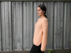 Ragtime Pullover Knitting Pattern