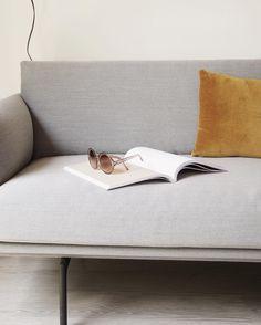 Ochre Cushion In Vel