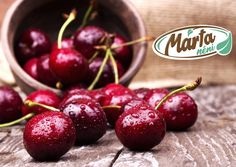 Cherries contain naturally occurring chemicals called anthocyanins, which could help lower blood sugar levels in people with diabetes. A study published in the Journal of Agricultural and Food Chemistry found anthocyanins could reduce insulin production b Health Benefits Of Cherries, Lower Blood Sugar Naturally, Food Chemistry, Tart Cherry Juice, Cherry Sauce, Fresh Cherry, Fresh Fruit, Food Network Canada, Cherry Recipes