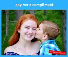 Angol szavak magolása HELYETT! Tanulj ilyen kifejezéseket, szókapcsolatokat: pay her a compliment = bókol (neki)  MINDEN NAP keddtől péntekig találsz nálunk valami ilyesmit. ;) Nap, Minden, Compliments, Couple Photos, Couples, Movies, Movie Posters, Couple Shots, Films