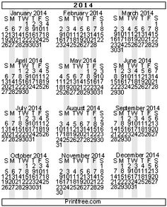 Calendars - Printfree.com -- HUGE selection of templates (also some interesting/educational/fun links)