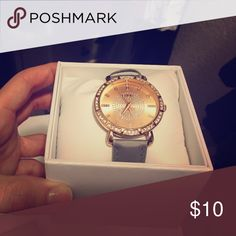 Rose gold and gray folio watch Rose gold and gray folio watch Folio Accessories Watches