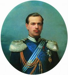 PaintingDb view of Portrait of Grand Prince Alexander Alexandrovich (Further Emperor Alexander III) by Zarianko, Sergei (Serguey)). Adele, Anastasia, King George I, Otto Von Bismarck, February Revolution, Grand Prince, Alexandre Iii, Christian Ix, Maria Feodorovna