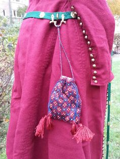 Swedish blog tutorial for brickwork purse and lots more.