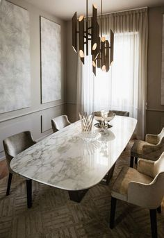 47 Creative Scandinavian Dining Room Design Ideas That Inspire You Dinning Table Design, Modern Dining Table, Dining Room Table, Marble Dinning Table, Casa Milano, Esstisch Design, Dinner Room, Dinner Table, Luxury Dining Room