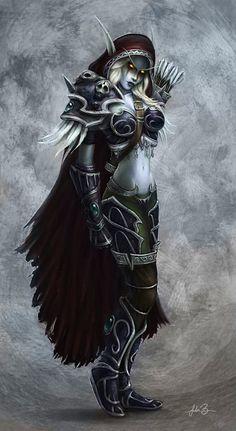 Lady Sylvanas Windrunner by fekb.deviantart.com on @DeviantArt