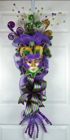 Mardi Gras Front Door Wreath Mardi Gras Wreath Mardi Gras - Mardi Gras Front Do. - Mardi Gras Front Door Wreath Mardi Gras Wreath Mardi Gras – Mardi Gras Front Door Wreath Mardi G - Mardi Gras Beads, Mardi Gras Food, Mardi Gras Carnival, Mardi Gras Party, Mardi Gras Centerpieces, Mardi Gras Decorations, Mardi Gras Outfits, Wreaths, Home Decor