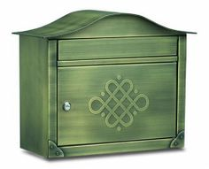 Architectural Mailboxes Peninsula Wall Mailbox, Antique Brass Embossed by Architectural Mailboxes. $151.30. This flagship design embodies Old World charm with over 14 pounds of solid brass construction hand finished in Antique Brass. The large slot and spacious locking storage compartment provide convenience and security. The access door is embossed with an ele. Save 33%!