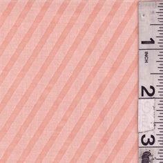 Light Orange Stripe Lawn - Discount Fabrics (for Deer and Doe Réglisse dress)