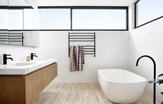 Sturdy black bathroom taps | modern bathroom inspiration bycocoon.com…