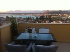 Amfitriti Palazzo Hotel Nafplio  view from the terrace