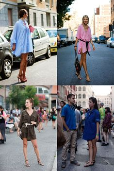 If You're Thinking About…..Spring!!…….. & Shirtdresses « The Sartorialist