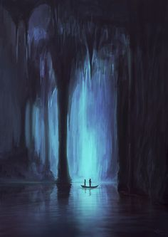 Reminds me of Hades' underworld Fantasy Places, Fantasy World, Dark Fantasy, Hades And Persephone, Hades Underworld, Fantasy Setting, Fantasy Landscape, Fantasy Artwork, Dark Art