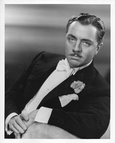WILLIAM HORATIO POWELL (Actor)  BIRTH:  July 29, 1892 in Pittsburg, Pennsylvania, U.S.A.  DEATH:  March 5, 1984 in Palm Springs, California, U.S.A.  CAUSE OF DEATH:  Heart Failure  CLAIM TO FAME:  The Thin Man