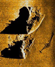 Ship Wreck Sonar Scan
