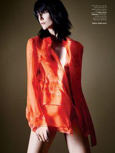 Vogue Brazil March 2015 | Janice Alida | Daemian Smith + Christine Suarez