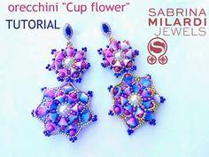 """Orecchini """"Cup Flower"""""""