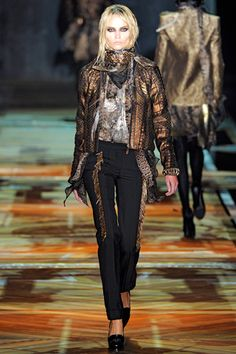 Complete Collection - roberto cavalli milan fashion week fall 2011 collection 1,