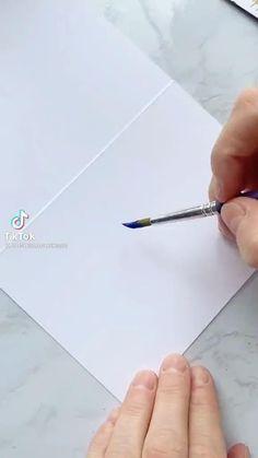 Art Painting Gallery, Painting & Drawing, Art Drawings Sketches Simple, Diy Canvas Art, Acrylic Art, Art Techniques, Gouache, Art Tutorials, Diy Art