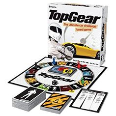 £18 Top Gear The Ultimate Car Challenge Board Game: Amazon.co.uk: Toys & Games