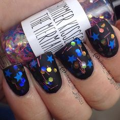 Night Sky BGW Collection Indie Nail Polish by ShimmerKissesNP