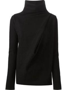 Ilaria Nistri | funnel neck draped sweater