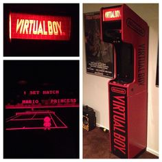 Tighe Lory's Custom Nintendo Virtual Boy Cabinet