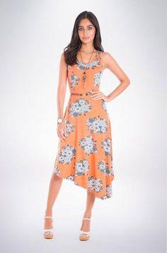 Fiquei apaixonada   Vestido Estampado Buquê Silvestre  COMPRE AQUI!  http://imaginariodamulher.com.br/look/?go=2dXAKHy