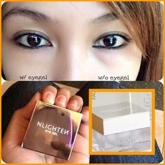 NLighten Eyegel. NET WT. 10g This product formulation has an elegant gel texture and infused with powerful botanical ingredients through NLIGHTEN's advanced technology. NLIGHTEN EYE GEL naturally helps reduce puffiness and helps brighten dark circles.  The dynamic vitality of NLIGHTENs natural botanicals specifically helps replenish the delicate eye area with moisture that helps reduce the appearance of fine lines. Moreover the innovative neuro-active solution of star lily helps minimize…