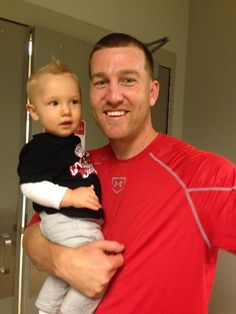Todd Frazier shares his victorious home run to win opening day with his son