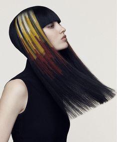 Angelo Seminara Long Black Hairstyles