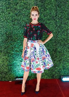 Camilla Belle - Nordstrom Vancouver Store Opening Gala - September 16, 2015
