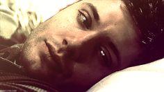 Jensen Ackles, Dean Winchester, supernatural sexy smile, gif adorable man