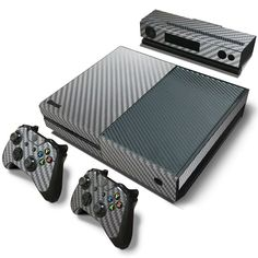 Share with someone who would love this! :)  http://www.hellodefiance.com/products/silver-carbon-fiber-skin-xbox-one-protector-1?utm_campaign=social_autopilot&utm_source=pin&utm_medium=pin