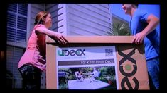 UDECX is a modular, portable and easy to install DIY composite decking system that transforms your outdoor living space in just a short time. Best of all it is superior to wood, and it can be done at a fraction of the cost compared to a professionally installed concrete patio.