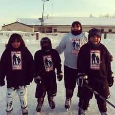 The NHLPA Goals & Dreams Fund has donated vital hockey equipment to our programs in Wapekeka First Nation (Ontario), allowing children and youth to take part in our Hockey for Development clinics.