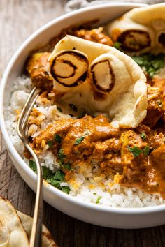 No need for takeout with this Coconut Chicken Tikka Masala.it's healthier, has incredible flavor, and is made with only a few pantry staple ingredients! Coconut Chicken, Healthy Chicken, Cooking Recipes, Healthy Recipes, Easy Recipes, Dinner Recipes, Kitchen Recipes, Healthy Eats, Dinner Ideas