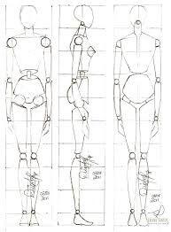 Resultado de imagem para desenho proporção humana