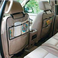 Amison Coche Auto Asiento Respaldo la cubierta del protector para los niños Kick Mat bolsa de almacenamiento  #carricochesbebe