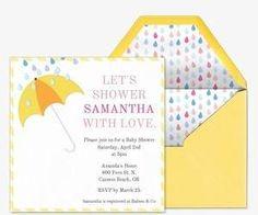 baby shower free online invitations