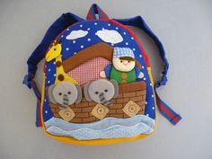 Childrens Backpacks Handmade Designer Gifts-Small Various - Dandy Lions Boutique