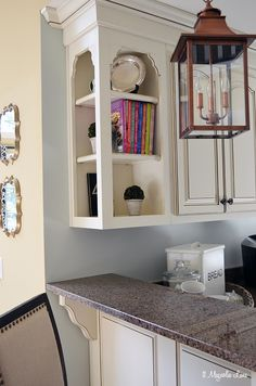White french country kitchen with copper and stainless accents | 11 Magnolia Lane